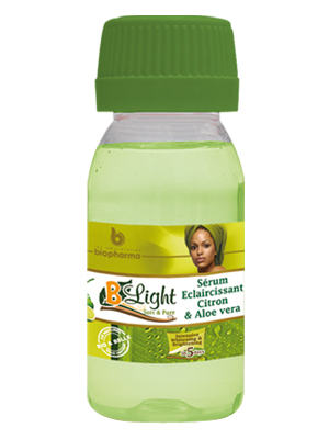 B-Light Serum super éclaircissant au citron et aloe vera  60ml